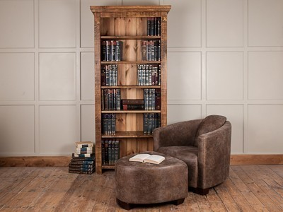 H&F Plank Tall Bookcase