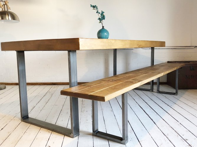 H&F Sheffield Beam Bench