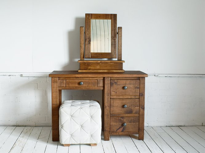 H&F Plank Small Dressing Table