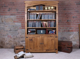 H&F Plank Living Room Bookcases