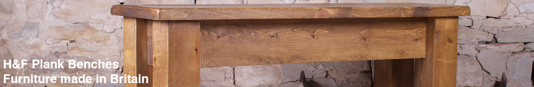 Buy Plank stools and benches for your dining room and hall