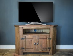 H&F Plank 2 Door Corner TV unit