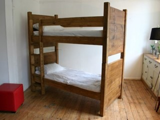 **INSTOCK** H&F Plank Bunk Bed