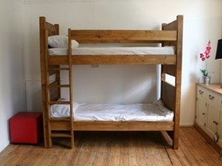 H&F Plank Bunk Bed