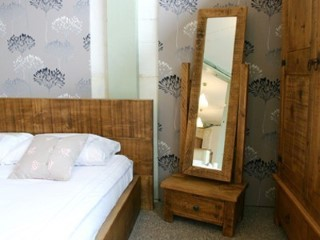 Exdisplay H&F Plank Cheval Mirror