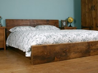 H&F Plank Modern Bed