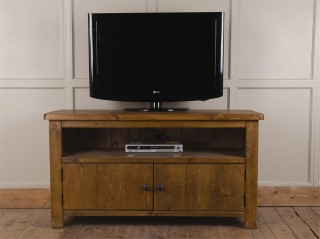 H&F Rustic 2 Door Plasma TV Unit