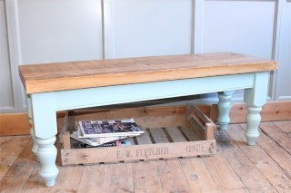 H&F Vintage Farmhouse Bench