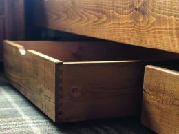 Underbed Storage Wooden Box