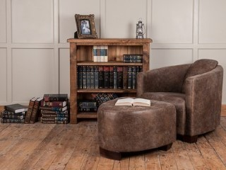 H&F Plank Dining Room Bookcases