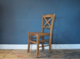 H&F Bistro Dining Chair Solid Seat