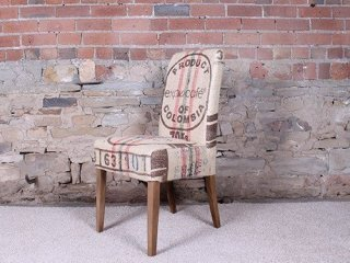 H&F Baby Holmes Hessian Dining Chair