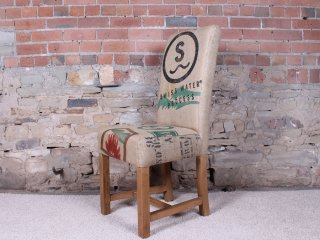 H&F Holmes Hessian Dining Chair