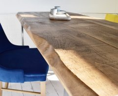 Exdisplay Live Edge Dining Table  6ft x3ft