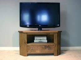H&F Plank 1 Drawer TV Corner Unit