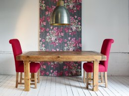 Exdisplay 7ft x 3ft6'' Butchers Dining Table