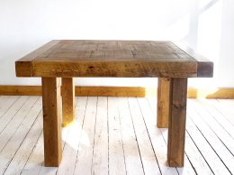 Exdisplay H&F Plank Butchers Dining Table 4ft x 3ft6