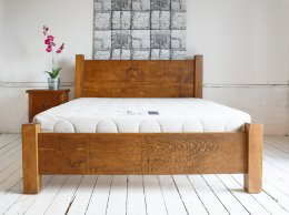 **INSTOCK** H&F Plank Bed Low Footboard