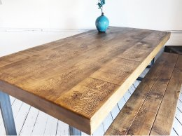 Exdisplay 7ft x 3ft6 Sheffield Beam Table