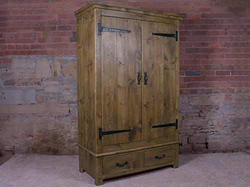 Hu0026F Plank Rustic Gents Wardrobe