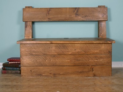 H&F Storage Back Bench
