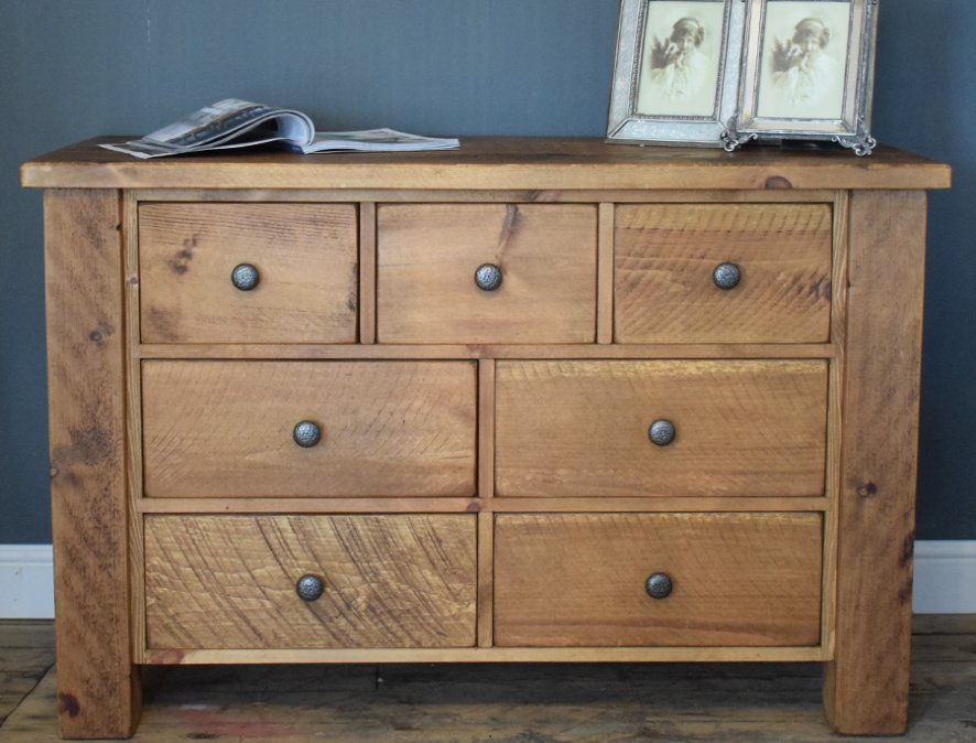 H&F Plank Chunky 7 Drawer
