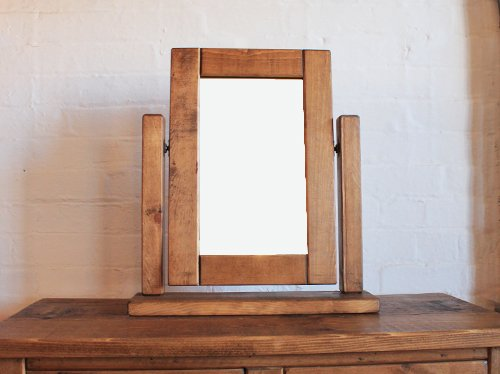 H&F Plank Dressing Table Mirror