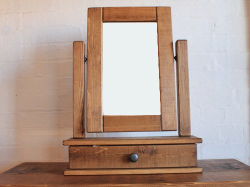 H&F Plank 1 Drawer Mirror