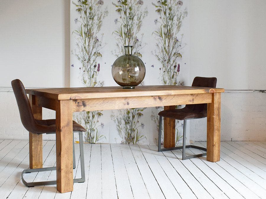 H&F Plank Dining Table